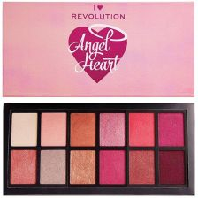 Makeup Revolution I Heart Revolution Angel Heart Eyeshadow Palette Paleta cieni do powiek 9g