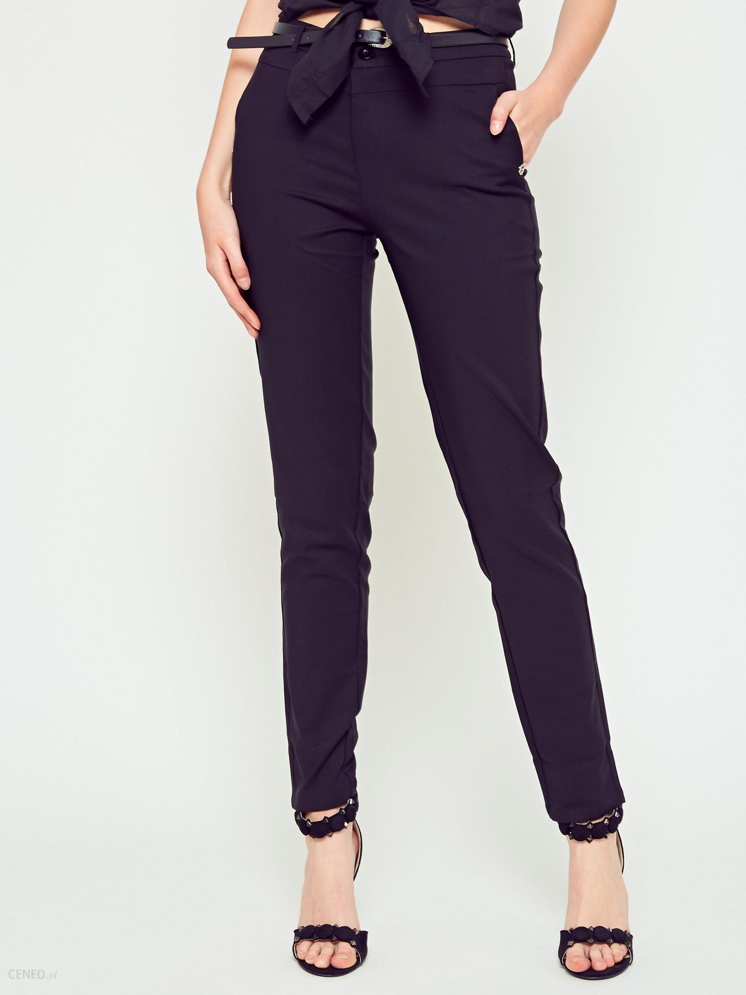 0261f9ef6c87 Spodnie Freesia klasyczne czarne - Ceny i opinie - Ceneo.pl