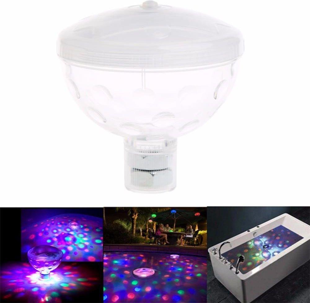 AliExpress 4 LED Luksusowe Pływające Podwodne Światła Disco Glow Pokaż Basen Lampy Garden Party Jacuzzi Spa Lampa Światła Ceneo.pl
