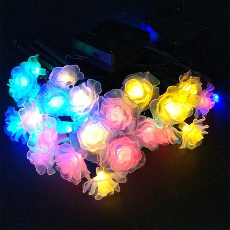 Aliexpress Lmid Lampy Solarne Romantyczny Bajki Kolorowe świąteczne
