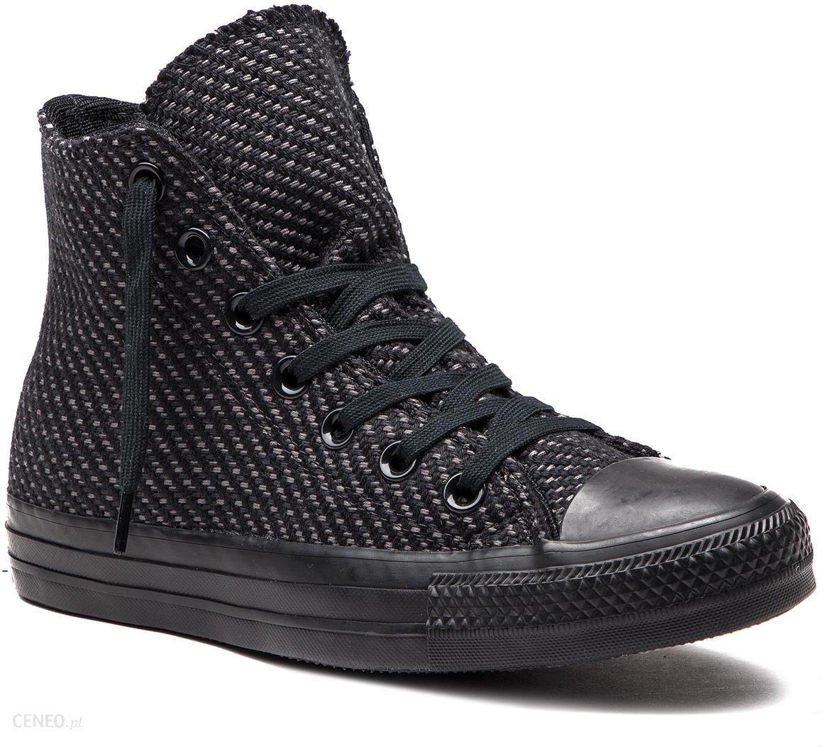 e3d0a18522806 Trampki CONVERSE - Ctas Hi 562490C Black/Black/Black - Ceny i opinie ...