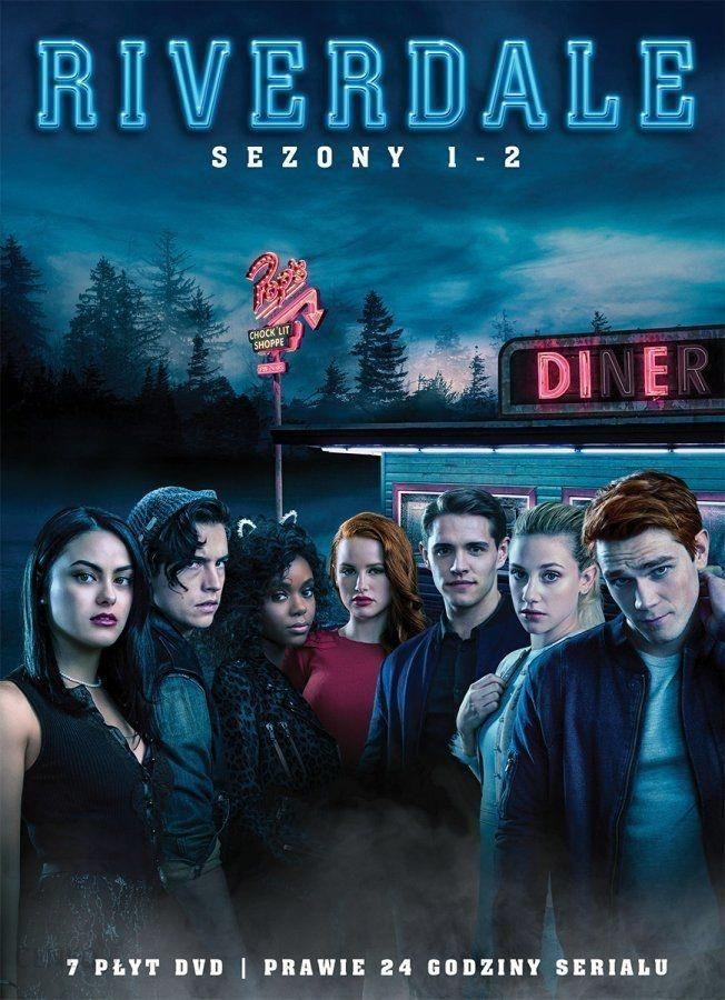 6d0ba2eee83d1 Film DVD Riverdale Sezon 1-2  box   7DVD  - Ceny i opinie - Ceneo.pl