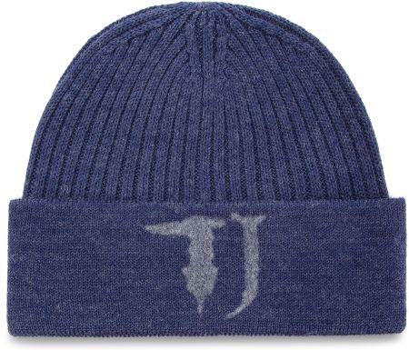 1ac5aa2d68013 Czapka TRUSSARDI JEANS - Hat Knitted Needled Logo 57Z00063 U280 eobuwie