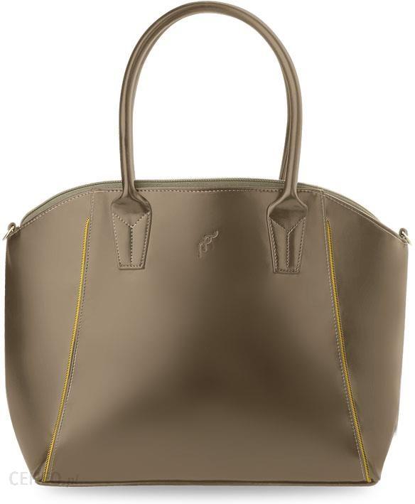 44b171d583828 Torebka damska łódka skóra polski producent shopper bag - beżowy - zdjęcie 1