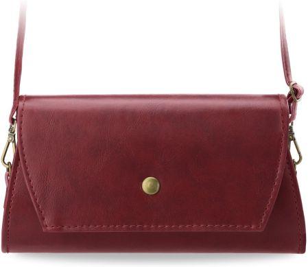 c6e05d61b851c Elegancka półokragła torebka czerwona Armani Jeans - Ceny i opinie ...