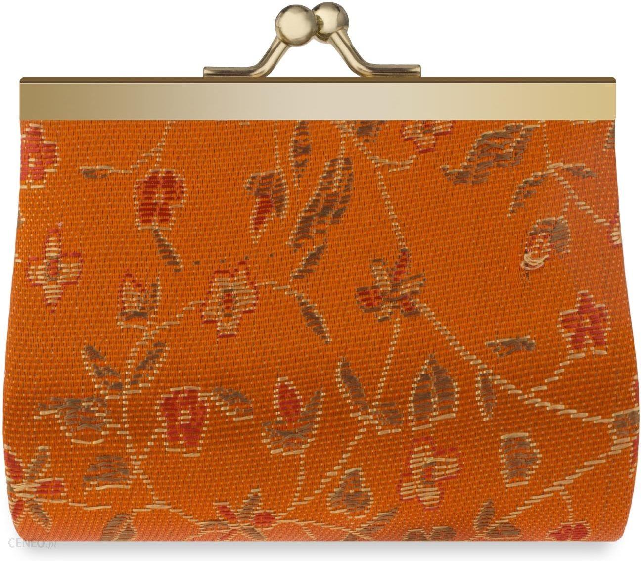 94fa9f451c76f Portmonetka damska retro portfelik na bigiel – pomarańczowy - Ceny i ...