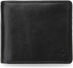 7432438b3c68e Praktyczny portfel męski visconti elegancka skóra technologia rfid - czarny  - zdjęcie 1