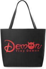 dfc5690ca1799 Modna torba ekologiczna z nadrukiem shopper na zakupy - demon