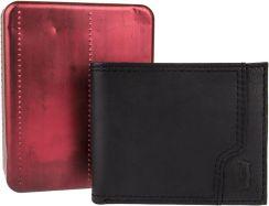 b4b1e0e43525c Levis czarny skórzany męski portfel 31LV2206 - Ceny i opinie - Ceneo.pl