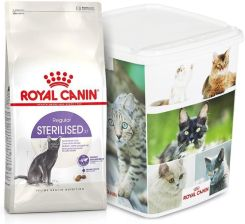 Royal Canin Sterilised Regular 10kg + Pojemnik