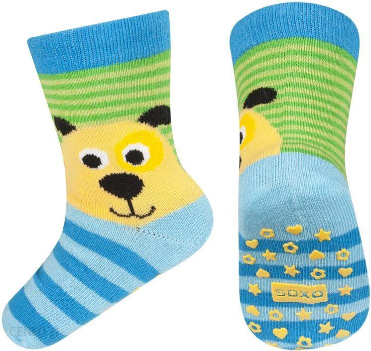 c51d5735422aef Skarpetki niemowlęce SOXO z psem i ABS - z psem - Ceny i opinie ...