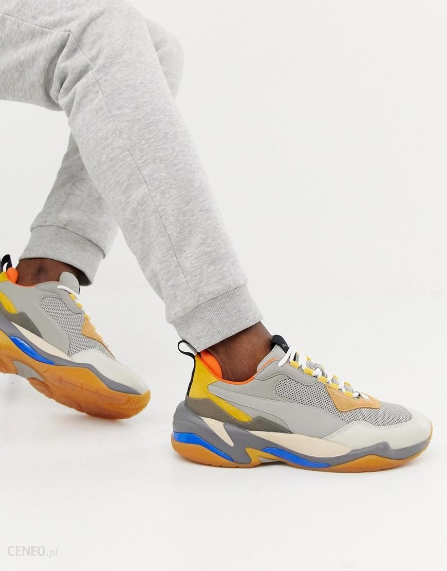 Puma Thunder Spectra trainers in grey Grey