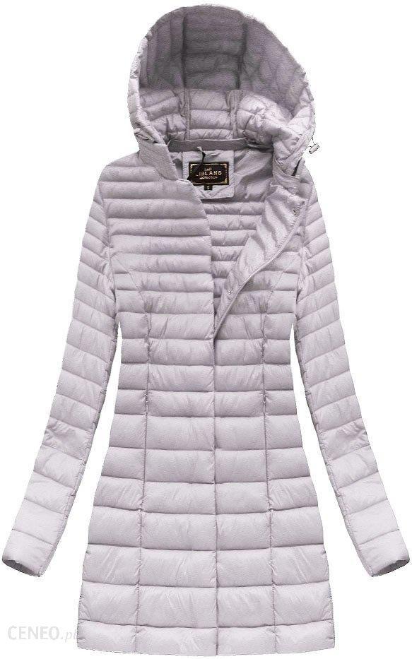 dłuższa pikowana kurtkas z kapturem libland