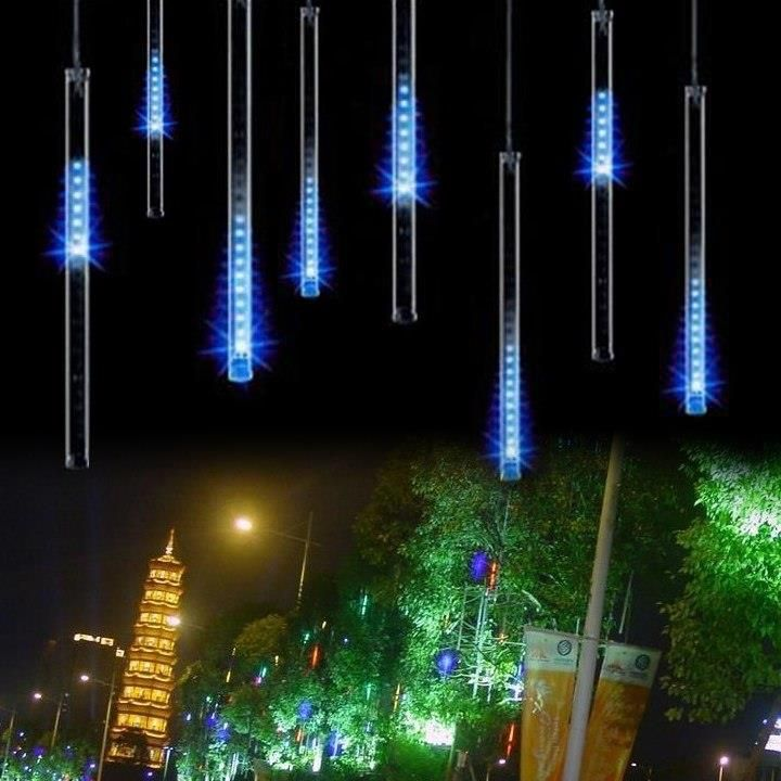 Aliexpress 80led Boże Narodzenie światła Na Zewnątrz Zasłony Doprowadziły Llight światła Led String Lights Dekoracje String Oświetlenie Zewnętrzne Met