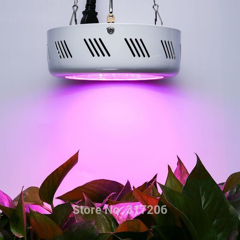 Aliexpress Pełne Spektrum 150 W Ufo Rosną światła Led Lampa Uv Ir Oświetlenie Dla Wzrostu Roślin Kwiatowych I Hydroponika Rosną Rosną Namiot Box