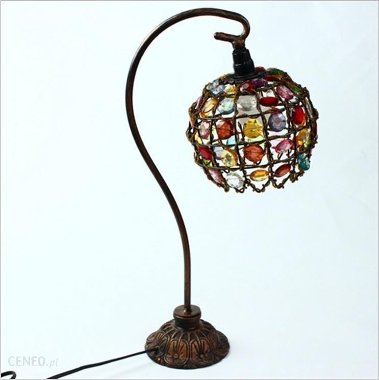 Aliexpress Akryl Retro Lampa Stołowa Doprowadziły Dekoracyjne Lampy Stołowe Europejskiej Nowy Dom Urządzone Lampki Nocne Sypialnia Prezent ślubny