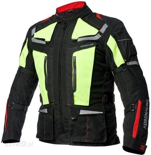 Odzież motocyklowa Kurtka turystyczna ADRENALINE CAMELEON 2.0 kolor czarny, rozmiar 2XL Opinie i ceny na Ceneo.pl