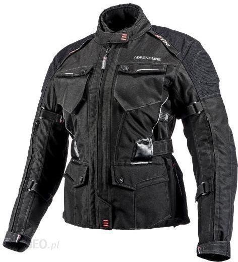 Odzież motocyklowa Kurtka turystyczna ADRENALINE ALASKA LADY 2.0 kolor czarny, rozmiar XL Opinie i ceny na Ceneo.pl