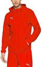 Amazon PUMA męska kurtka liga casuals Hoody Jacket, czerwony, s - zdjęcie 1 e77b5686b1