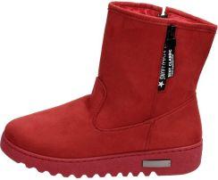 Czerwone śniegowce Damskie Mckeylor 14401 Ceny I Opinie Ceneopl