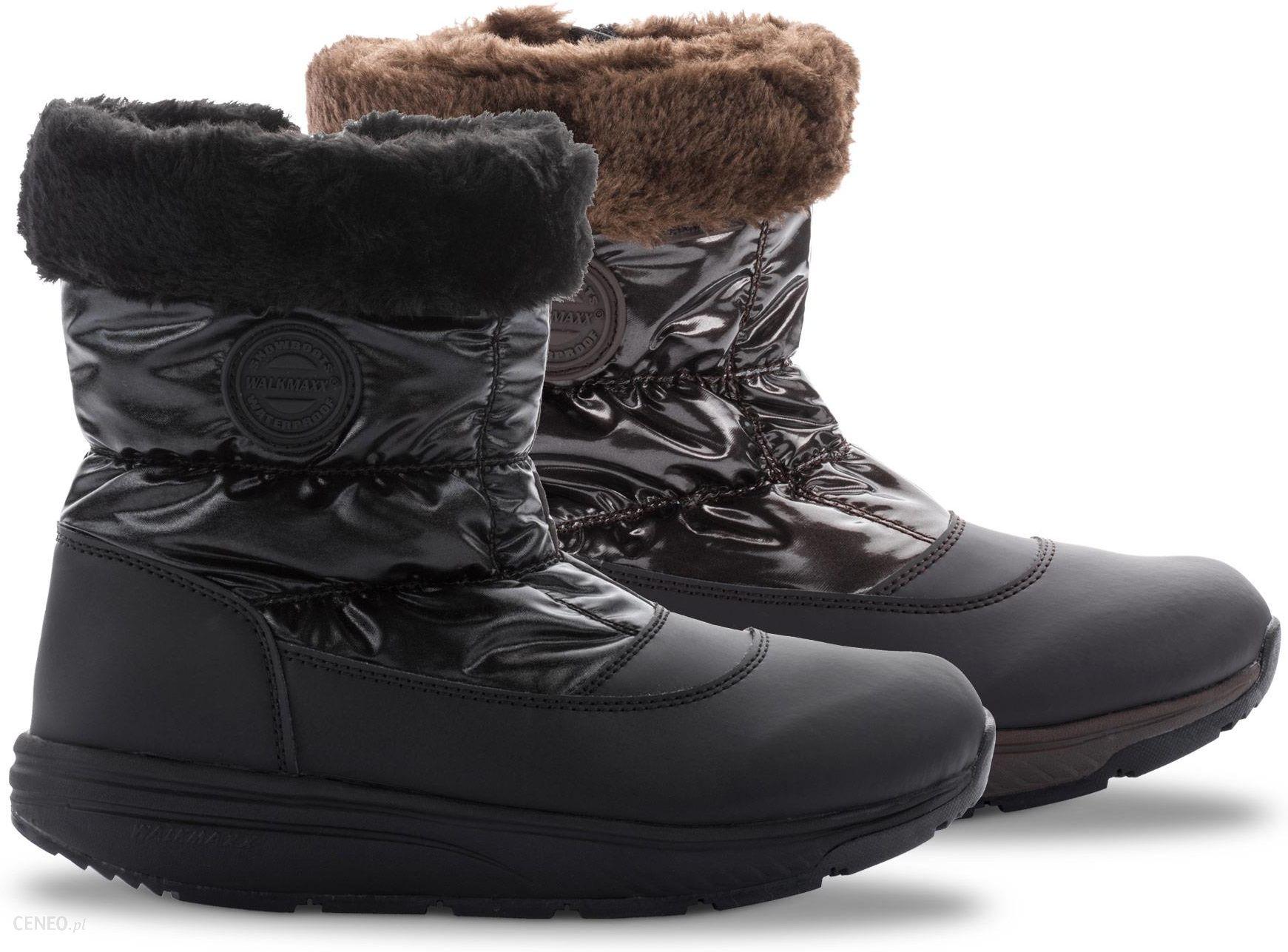 e4fd65fa Niskie damskie buty zimowe 3.0 Walkmaxx Comfort Walkmaxx, 37, czarny -  zdjęcie 1