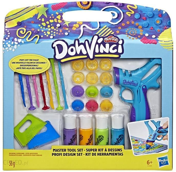 Hasbro Doh Vinci Zestaw Narzedzi Do Kreatywnej Zabawy E1468 Ceny I Opinie Ceneo Pl
