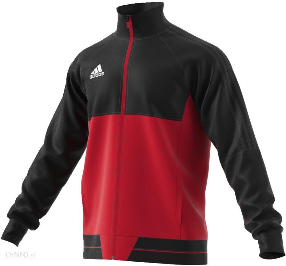 adidas tiro 17 bluza treningowa czerwona