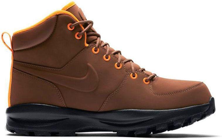 buty zimowe manoa leather nike brązowe