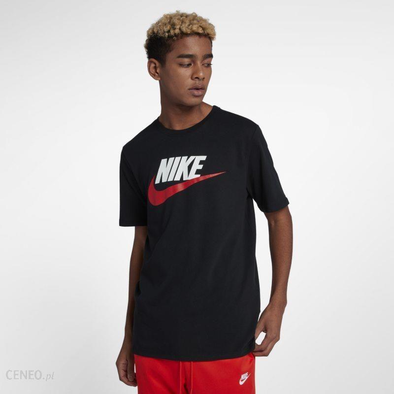 T shirt męski moro Nike Sportswear Czerń Ceny i opinie Ceneo.pl