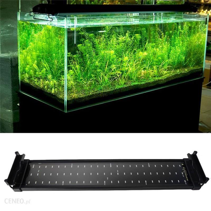Aliexpress Fish Tank Akwarium Oświetlenie Led 50 Cm 68 Cm Przedłużenia Rama Lampy Smd 72 Diody Led 11 W Biały Niebieski 2 Tryby Ueusuk Plug Power