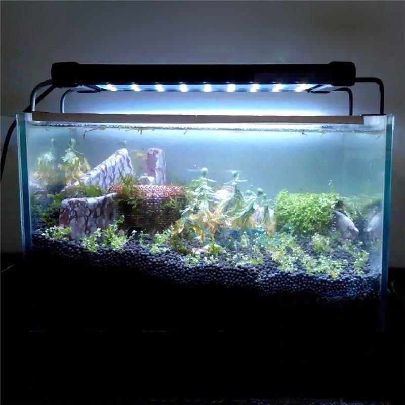 Aliexpress Oryginalny Smd Fish Tank Akwarium Oświetlenie Led Lampa 50 68 Cm28 46 Cm Przedłużenia Ramki Biały Blue Led Do Akwarium Ueusuk Wtyczka