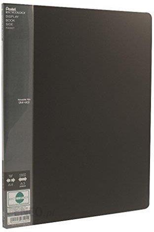 Amazon Pentel Dcf642 Recyc Są Zewnętrzny Binder Side Składa Się Z 50 Recyklingu Pp A3 A4 20 Kieszeni Czarny