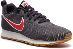 61e41da0e8256 Buty NIKE - Md Runner 2 Eng Mesh 916774 009 Oil Grey/University Red eobuwie