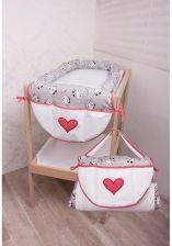 Glück Baby Przewijak Z Przybornikiem 073 Kotki Biały 5959533