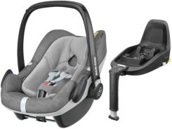Maxi-Cosi Pebble Plus Nomad Grey 0-13Kg + Baza 2Wayfix