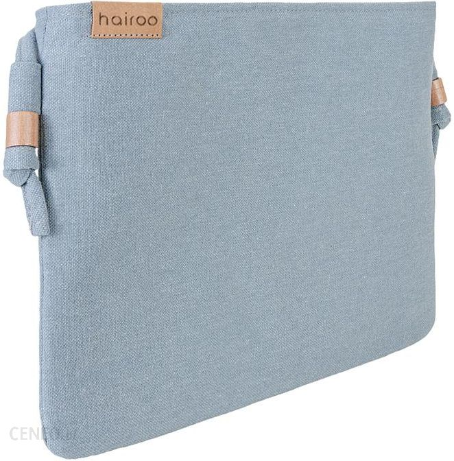 b14cb149fd038 hairoo Nodo bag niebieska kopertówka z paskiem na ramię niebieski - zdjęcie  1