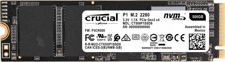 Crucial P1 M.2 500GB (CT500P1SSD8)