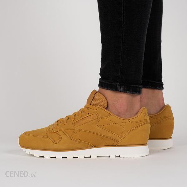57ad2e9799d Buty damskie sneakersy Reebok Classic Leather CN5483 - BRĄZOWY - zdjęcie 1