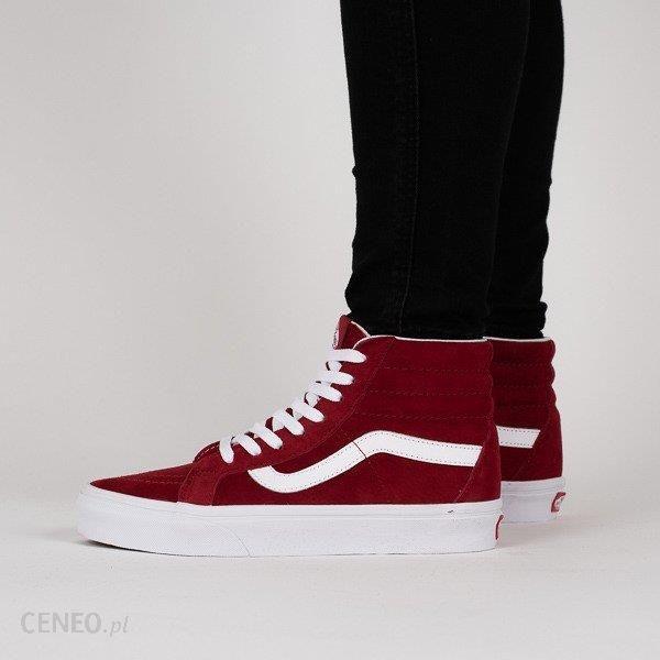 Buty damskie sneakersy Vans Sk8 Hi Reissue VA2XSBU5M CZERWONY Ceny i opinie Ceneo.pl