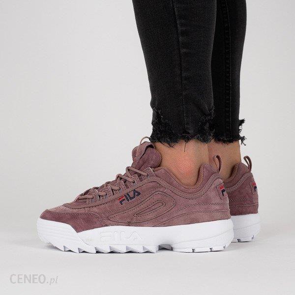Buty damskie sneakersy Fila Disruptor S Low 1010436 70W RÓŻOWY Ceny i opinie Ceneo.pl