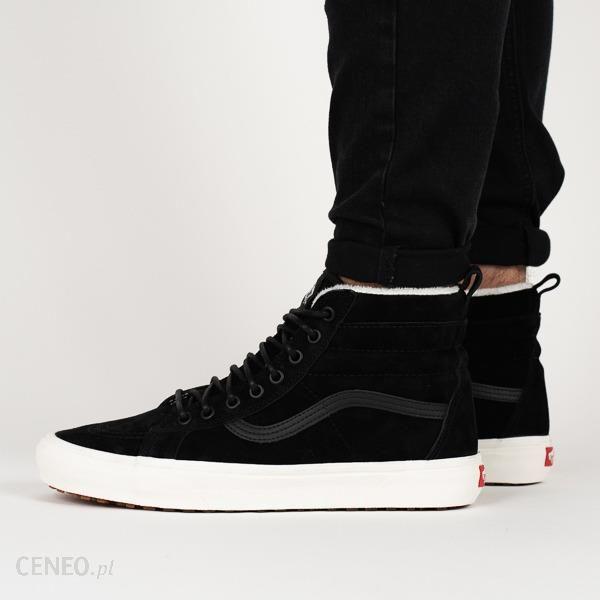 0e2893eabc Buty sneakersy Vans Sk8-Hi VA33TXUC2 - CZARNY - Ceny i opinie - Ceneo.pl