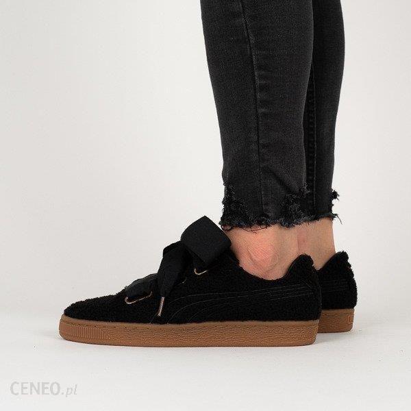 Buty damskie sneakersy Puma Basket Heart Teddy 367030 01