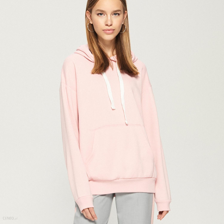 sinsay różowa bluza z kapturem