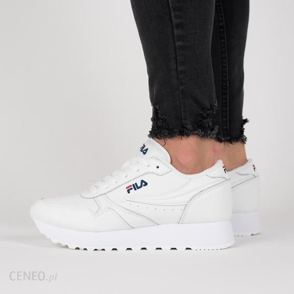 Buty damskie sneakersy Fila Orbit Zeppa 1010311 1FG BIAŁY Ceny i opinie Ceneo.pl