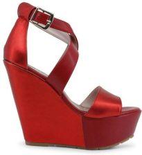 14c50c9ba5e0d Paris Hilton sandały damskie koturny czerwony 38