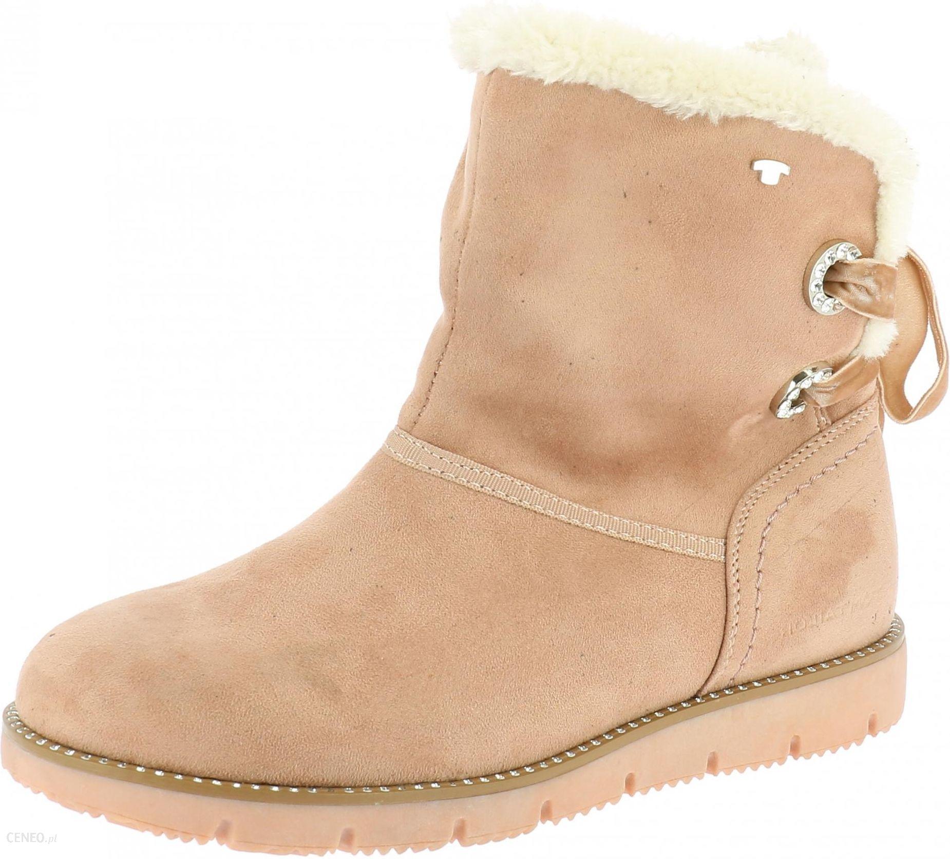 52f1eb66af9e3 Tom Tailor buty zimowe damskie 39 różowy - Ceny i opinie - Ceneo.pl