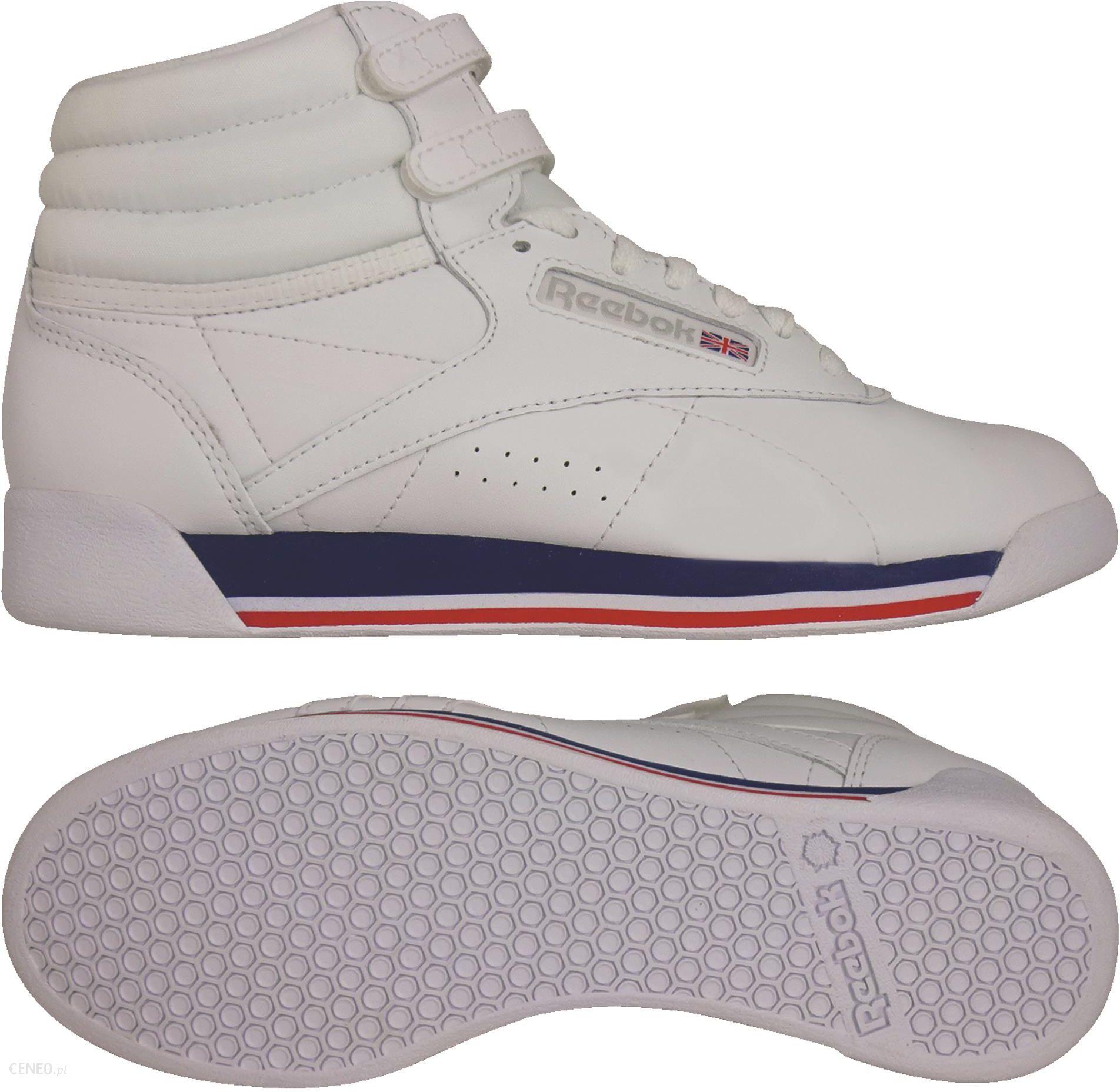 Buty damskie sneakersy Reebok Freestyle Hi CN2964 BIAŁY Ceny i opinie Ceneo.pl