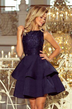 f1088a94b4 Modna sukienka góra koronka wesele - Czerwona L - Ceny i opinie ...