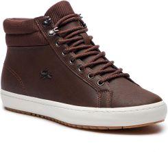 d16ea4f8ca7dd Sneakersy LACOSTE - Straightset Insulac 3181 Cam 7-36CAM0064DB2 Dk Brw/Dk  Brw eobuwie. Buty sportowe męskie ...