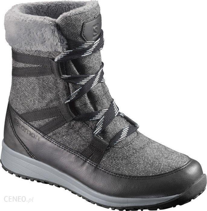 Buty trekkingowe Salomon Heika Cs Wp Black Quarry Alloy L39452300 Ceny i opinie Ceneo.pl